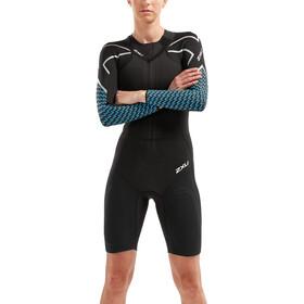 2XU Sr:Pro-Swim Run Sr1 Våddragt Damer, black/aquarius